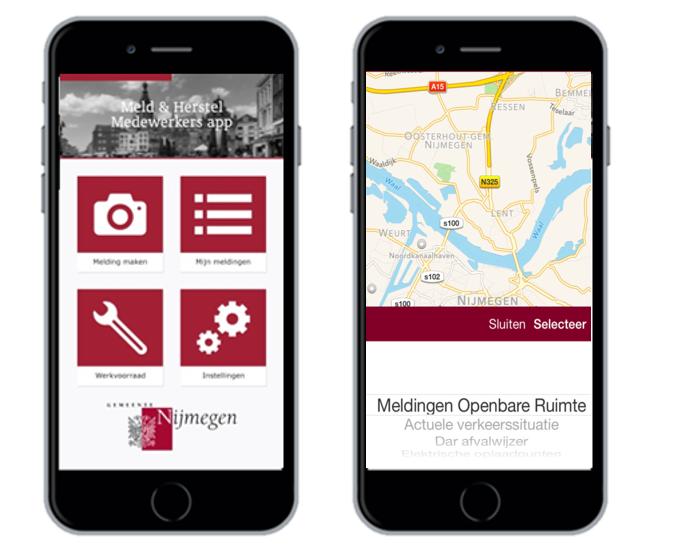 Bel & Herstel App gemeente Nijmegen