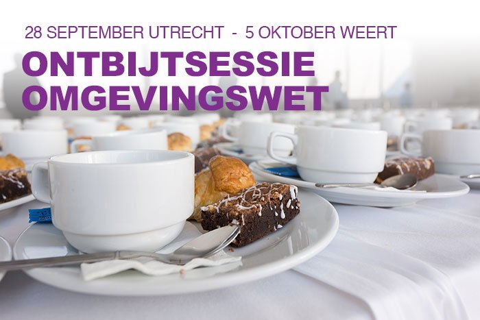 Ontbijtsessies KenniscentrumOmgevingswet.NL