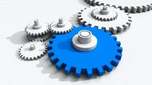 Tandwielen voor samenwerking stelsel van basisregistraties